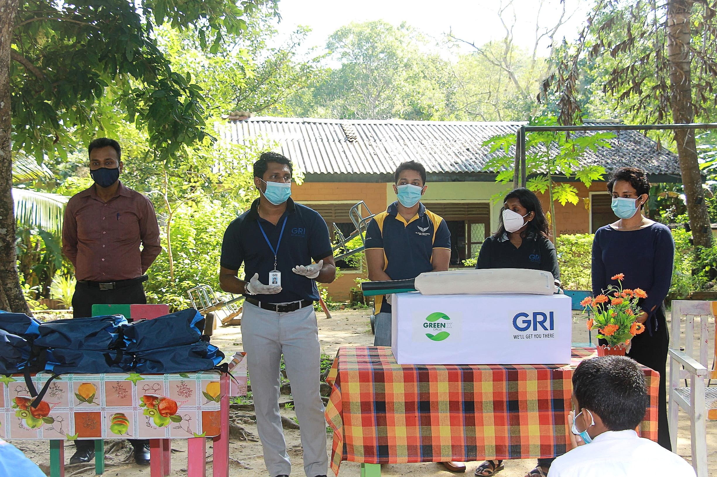 GRI's GREEN X Circle Uplifts Schoolchildren in Rubber Farming Communities Image
