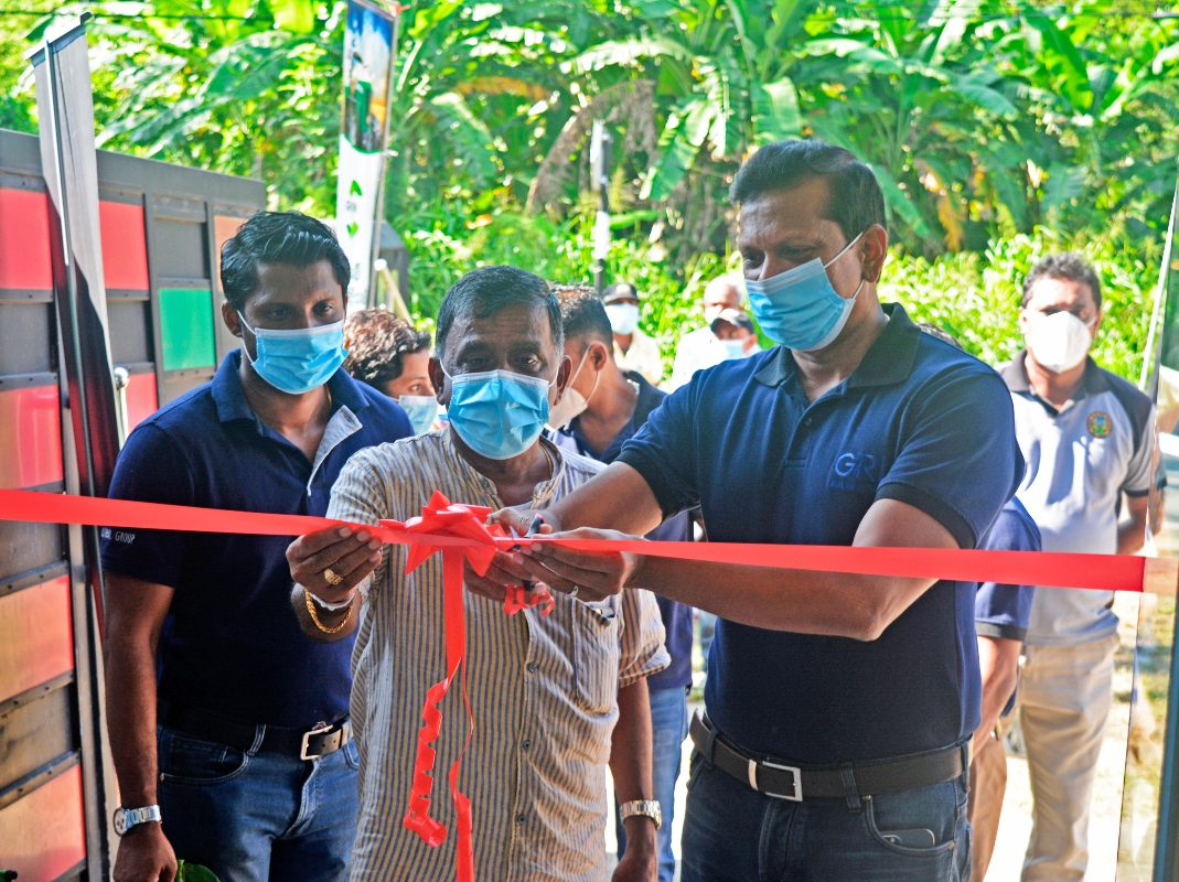 GRI unveils latest rubber collection center in Sri Lanka Image