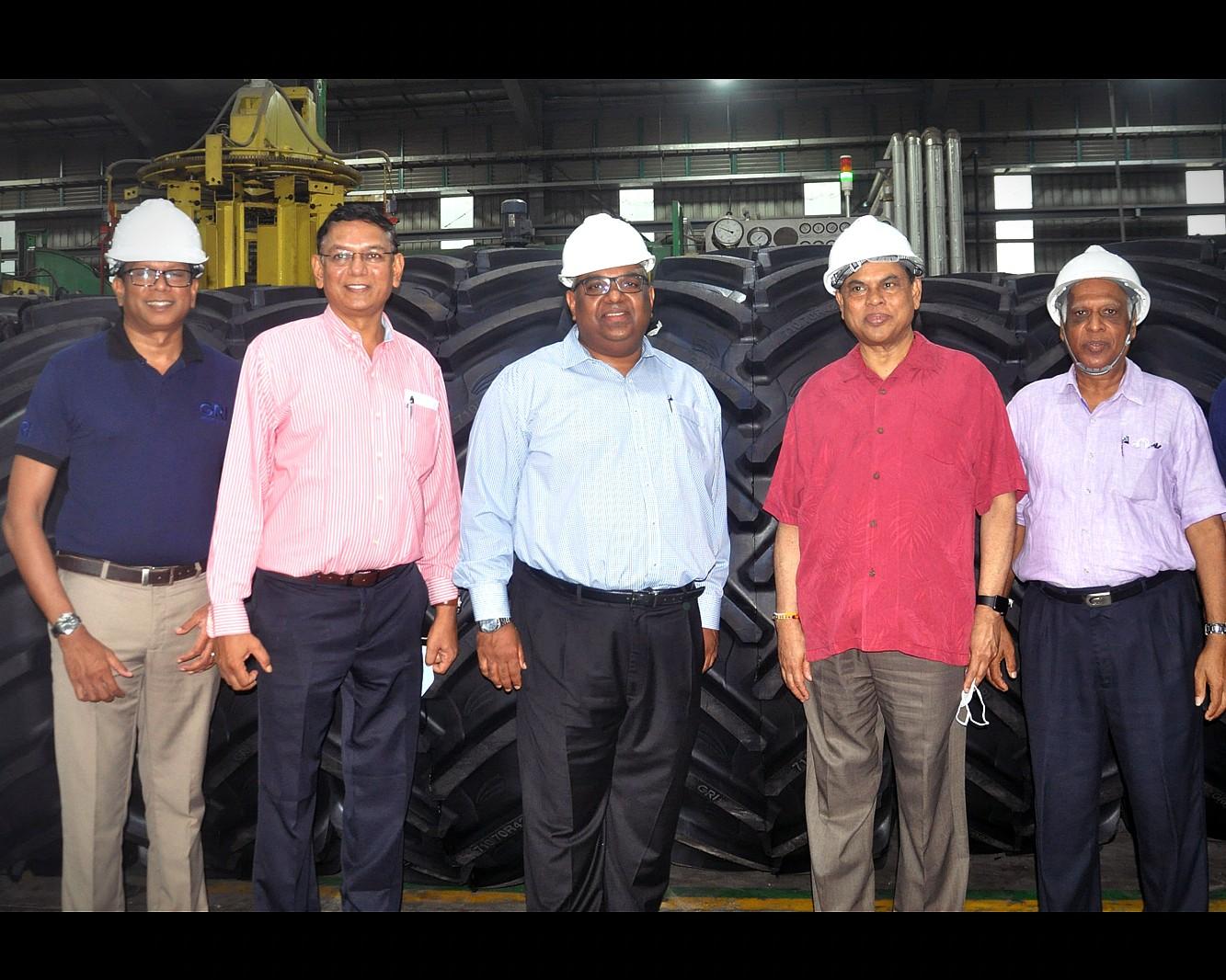 GRI Production Plant Gets VIP Visit Image